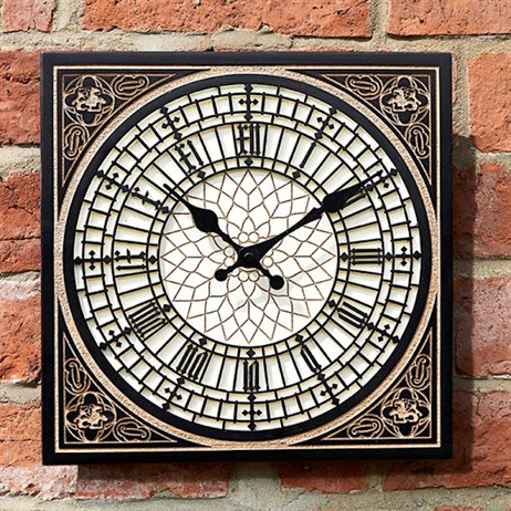 Outside In Little Ben Wall Clock 12 Inch (5160008)