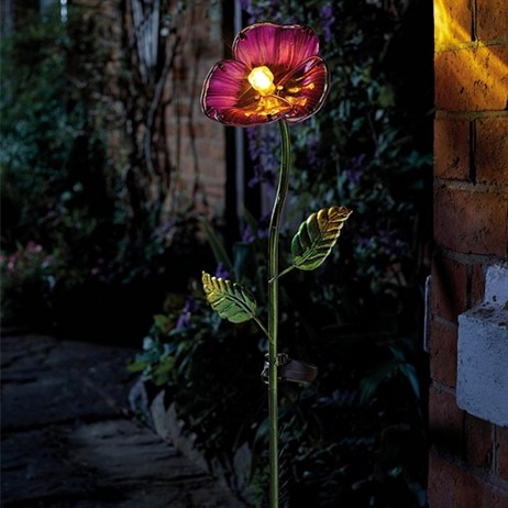 Smart Garden Purple Pansy Stake Light (1012603)