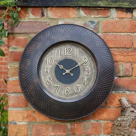 Outside In Richmond Wall Clock 20 Inch (5160050)