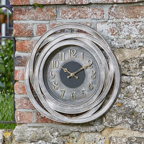 Outside In Ripley Wall Clock 20 Inch (5160060)