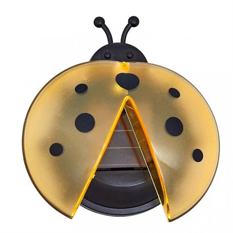 Smart Garden Solar Lantern Lady Bug Lighting - Yellow (1080997)