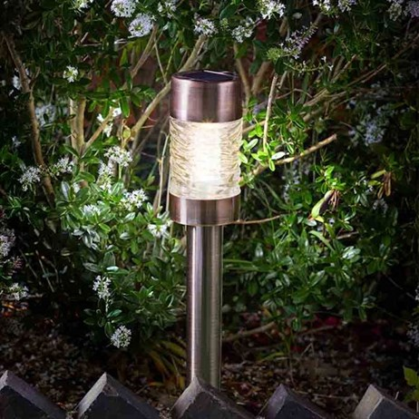 Smart Garden Super Bright Solar Martello Antique Copper Stake Light 5L (1001010)