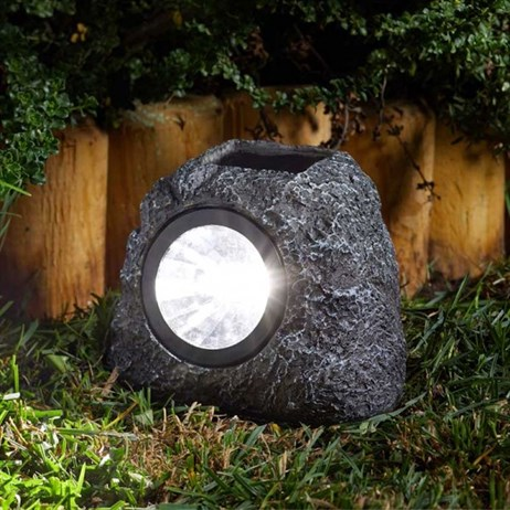 Smart Garden Super Bright Solar Rock Spotlight 3L (1004040)