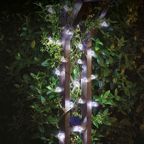 Smart Garden Ultra Solar String Lights - 25 Orbs (1006002)
