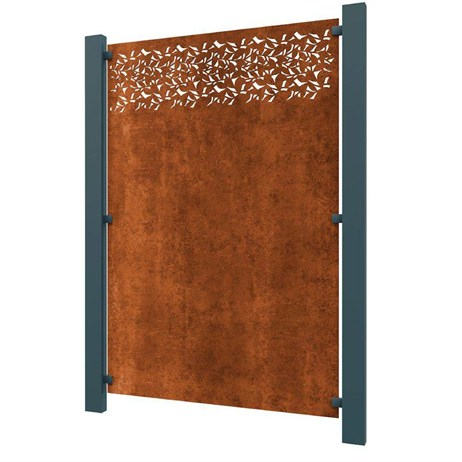 Stark & Greensmith Privacy In Corten Steel Fence Panel - DIRECT DISPATCH