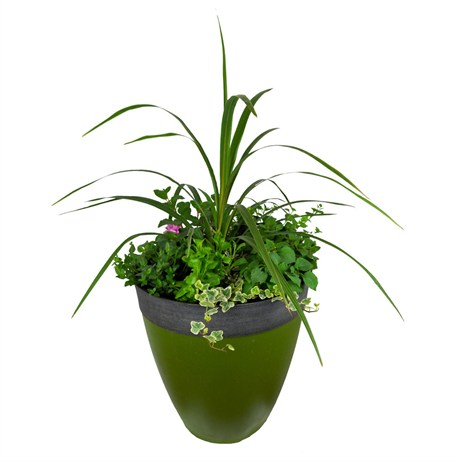 Summer Planter Gala Tall Patio Container - 14 inch