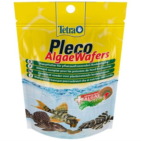 Tetra Pleco Algae Wafers 42g Fish Food