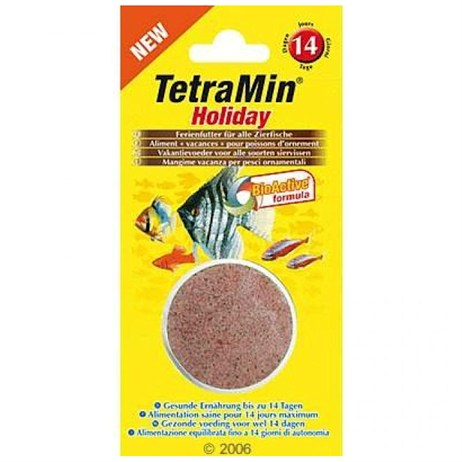 Tetramin Holiday Food Blocks 30g Fish Food