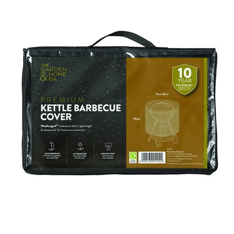 The Garden & Home Co Premium Kettle Barbecue Cover - Green (37020)