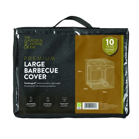 The Garden & Home Co Premium Large Barbecue Cover - Green (37010)