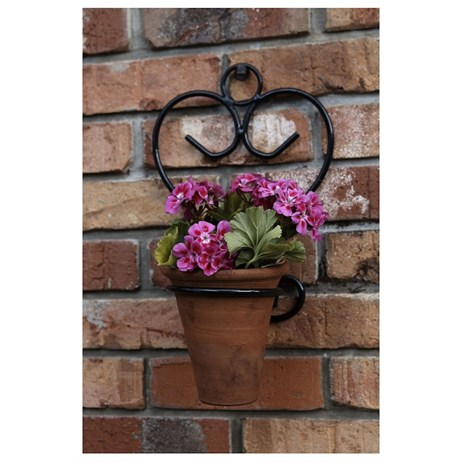 Tom Chambers Amalfi Plant Pot Holder - Sage (PH010)