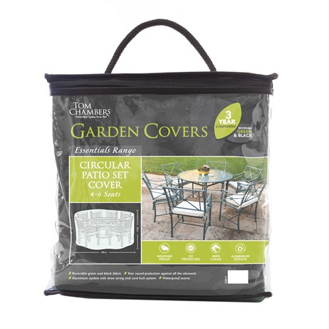 Tom Chambers Circular Patio Set Cover - Essential - 4/6 Seat (CE011)