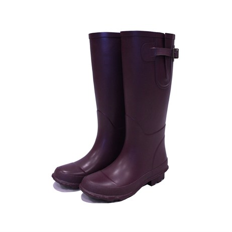 Town and Country Bosworth Wellington Boots - Aubergine - 7 (TFW2557)