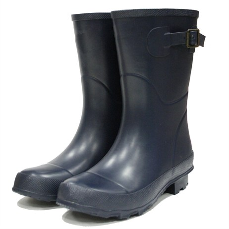 Town and Country Bradgate Short Wellington Boots - Navy - 7 (TFW6515)