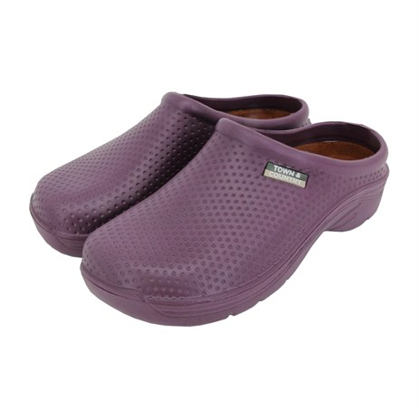 Town and Country EVA Cloggies - Aubergine - 8 (WFW527)