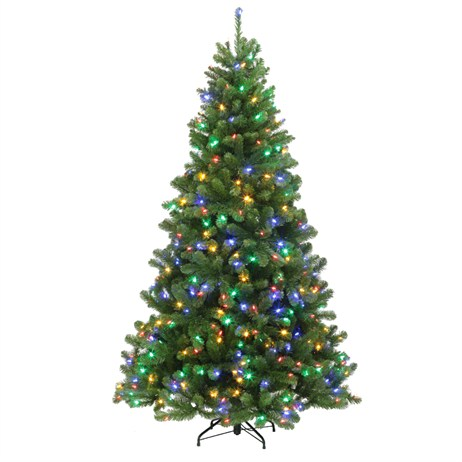 Tree Classics 1.5m (5ft) Green Arctic Spruce Pre-Lit with Dual Colour LEDs Artificial Christmas Tree (60-386-385LX)