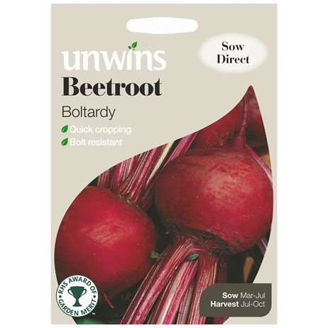 Unwins Seeds Beetroot Boltardy (30310009)