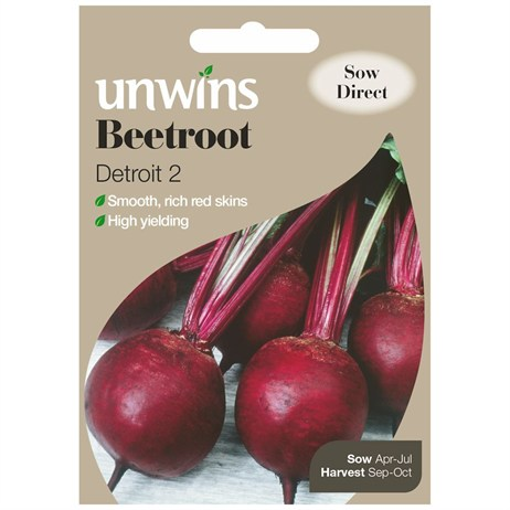 Unwins Seeds Beetroot Detroit 2 (30310012)