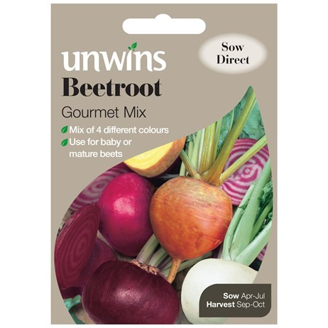 Unwins Seeds Beetroot Gourmet Mix (30310496)