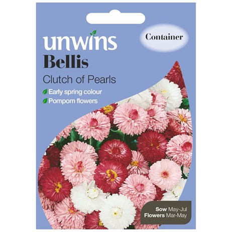 Unwins Seeds Bellis Clutch Of Pearls (30210032)