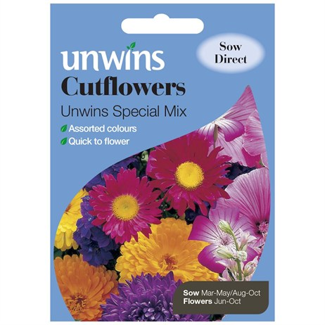 Unwins Seeds Cutflowers Unwins Special Mix (30210070)