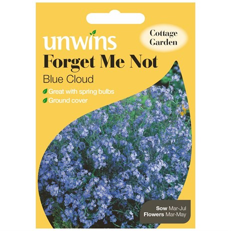 Unwins Seeds Forget Me Not Blue Cloud (30210082)