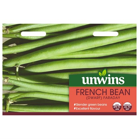 Unwins Seeds French Bean (Dwarf) Faraday (31210089)