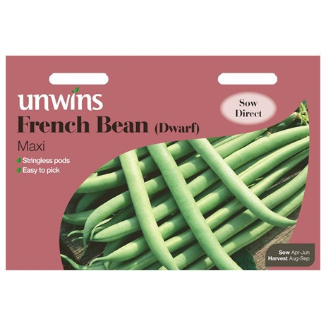 Unwins Seeds French Bean (Dwarf) Maxi (31210015)