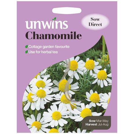 Unwins Seeds Herb Chamomile (30410006) Vegetable Seeds