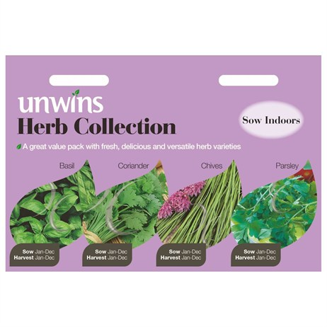 Unwins Seeds Herb Collection (30410031)