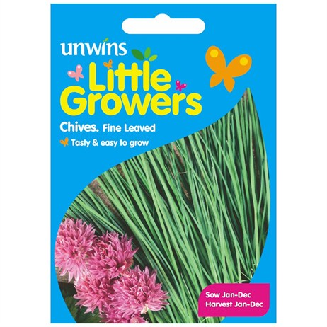 Unwins Seeds Little Growers Chives Fine Leaved (30510006) Seeds for Kids