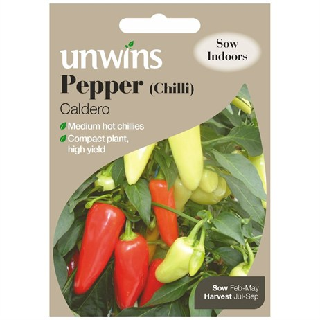 Unwins Seeds Pepper (Chilli) Caldero (30310173)