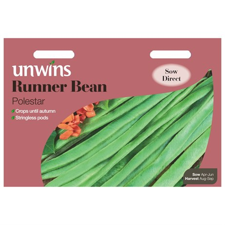 Unwins Seeds Runner Bean Polestar (31210042)