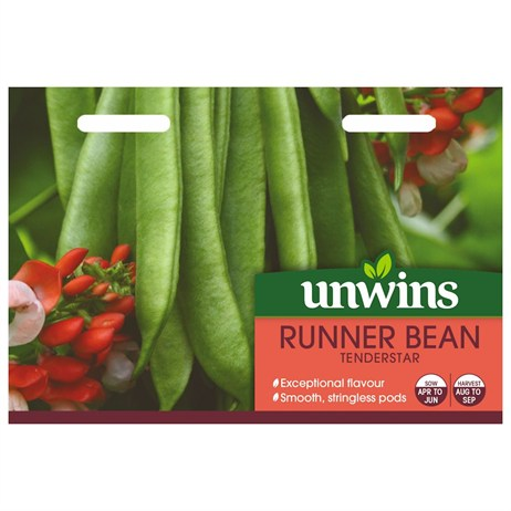 Unwins Seeds Runner Bean Tenderstar (31210091)