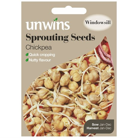 Unwins Seeds Sprouting Seeds Chickpea (30310212)