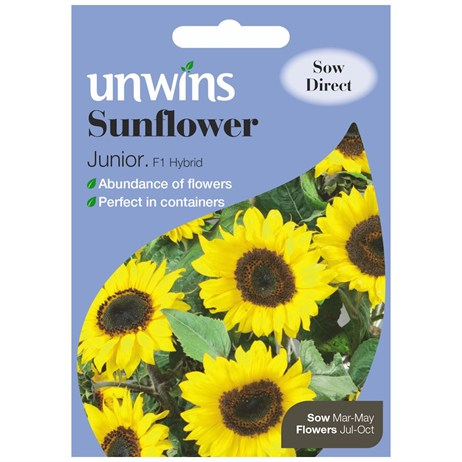 Unwins Seeds Sunflower Junior F1 (30210448)