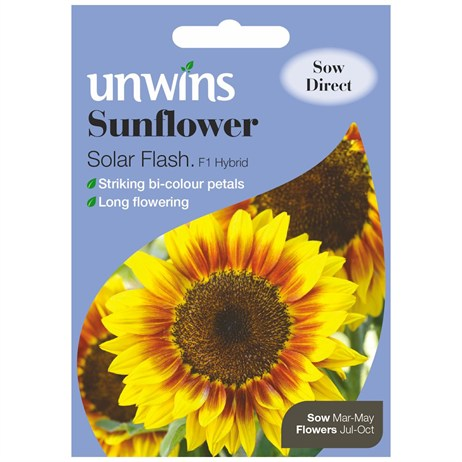 Unwins Seeds Sunflower Solar Flash F1 (30210444)