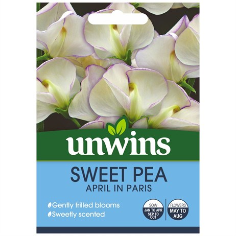 Unwins Seeds Sweet Pea April In Paris (30210426)