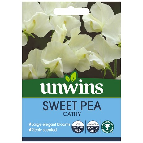 Unwins Seeds Sweet Pea Cathy (30210208)