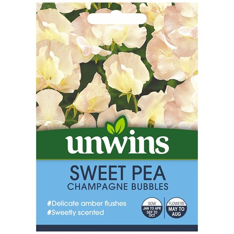 Unwins Seeds Sweet Pea Champagne Bubbles (30210613)