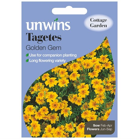 Unwins Seeds Tagetes Golden Gem (30210232)