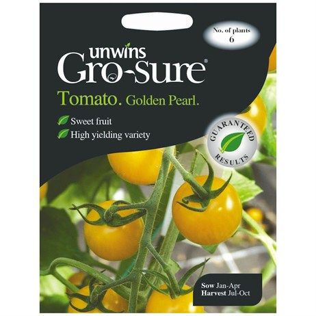 Unwins Seeds Tomato Golden Pearl F1 (30310390)