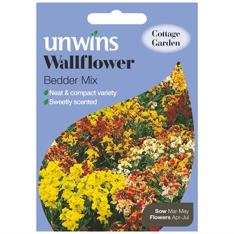 Unwins Seeds Wallflower Bedder Mix (30210260)