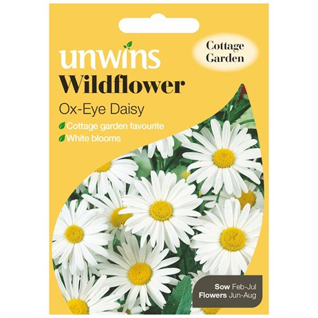 Unwins Seeds Wildflower Ox-Eye Daisy (30710005)