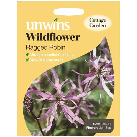 Unwins Seeds Wildflower Ragged Robin (30710006)