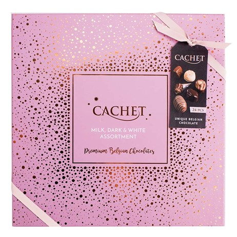 Valentine's Day Gifts - Cachet Assorted Chocolates Luxury Gift Box 315g