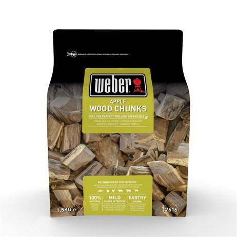 Weber Apple Wood Chunks 1.5kg (17616)