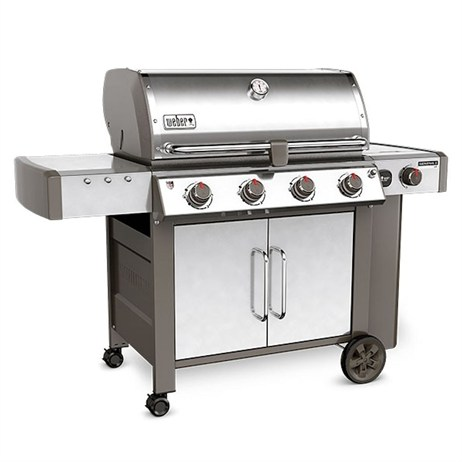 Weber Genesis II LX S-440 GBS - Stainless Steel (62004174) Gas Barbecue