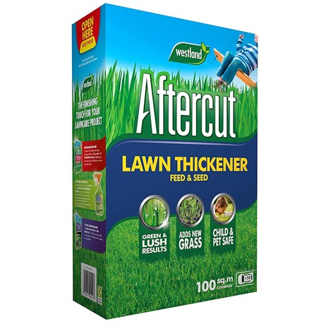 Aftercut Lawn Thickener Feed and Grass Seed - 100 sq.m - 3.5kg (20400372)