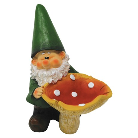 Woodland Wilf Feeds The Birds Garden Gnome (B9453)